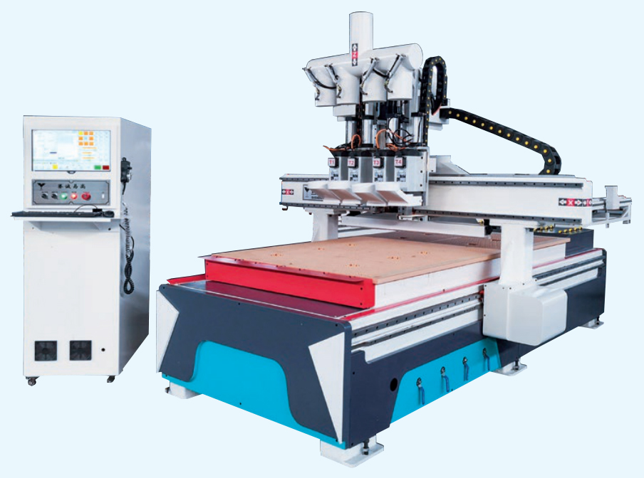 1325 CNC opener in the panel furniture production line